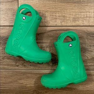 CROCS Little Kids Rain Boots
